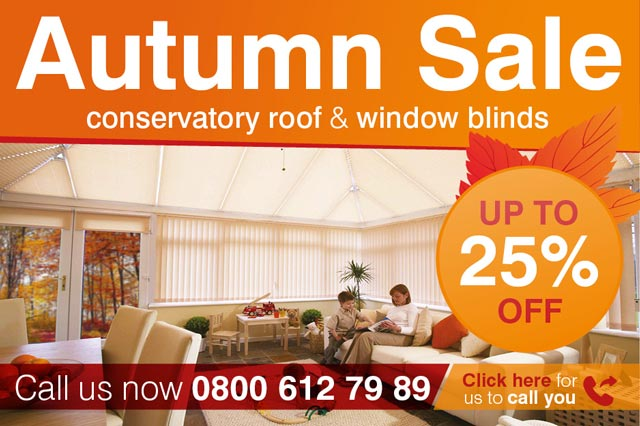 Marla Custom Blinds - Autumn offer