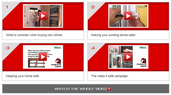 Make it safe videos - Marla Conservatory Blinds
