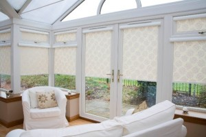 marla no-drill conservatory roof and side blinds