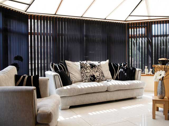 conservatory side blinds