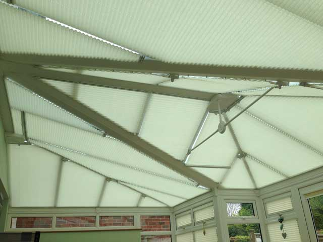 Conservatory Roof Pleated Blinds Marla Conservatory Blinds