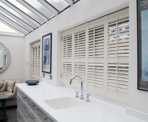 bathroom UPVC shutter