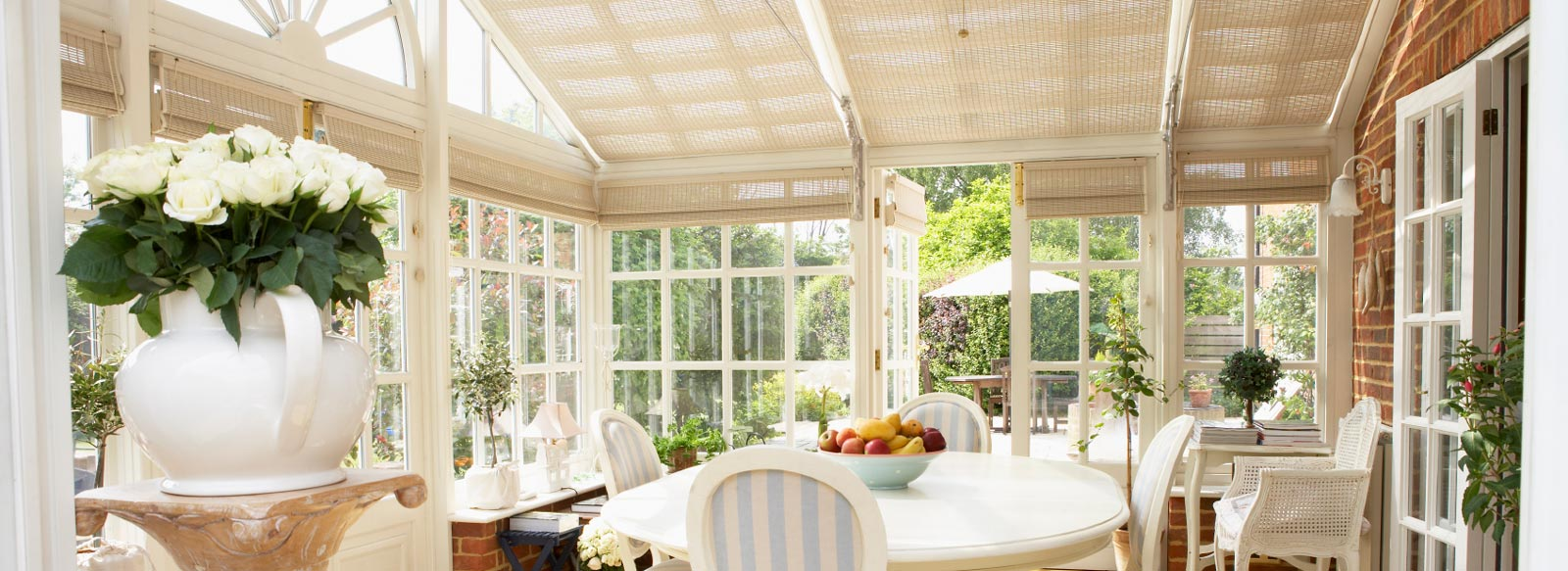 marla conservatory roof pinoleum blinds
