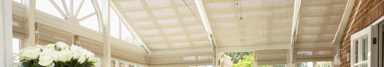 pinoleum conservatory roof blinds