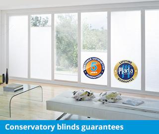 marla conservatory blinds guarantees