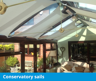 marla conservatory sail blinds