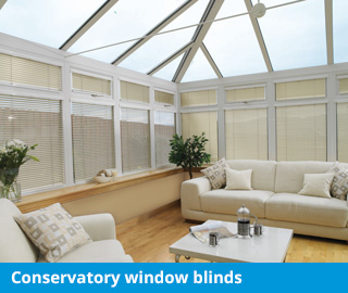 marla conservatory window blinds