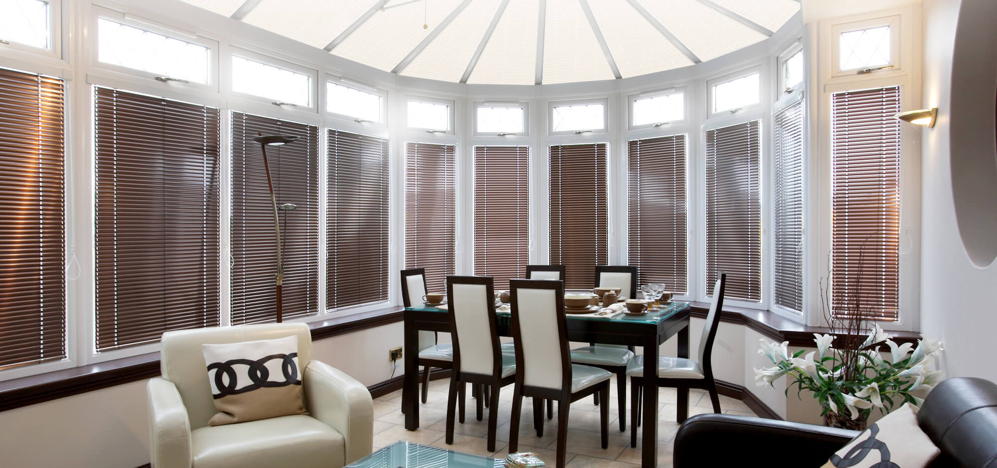 marla conservatory blinds - cool in summer