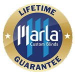 marla blinds lifetime guarantee icon